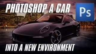 Photoshop a Car into a New Environment