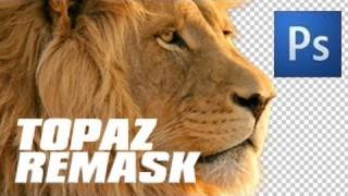 Photoshop Masking with Topaz Remask