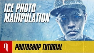 Photo Manipulation Ice Effect